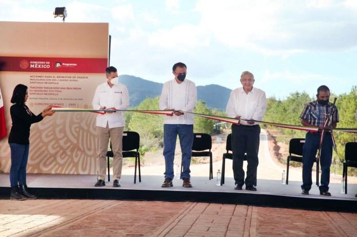 Nuevos caminos abonan al desarrollo de las comunidades de Oaxaca   Diario  Marca