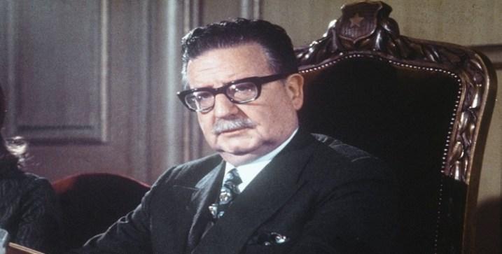 Plancha de Quite del Querido Hermano Salvador Allende