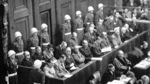 Acusados NAZIs del Tribunal de Nurembreg (1945)