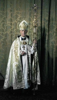 Geoffrey Francis Fisher (1887-1972) Arzobispo deCanterburyy maestro masón