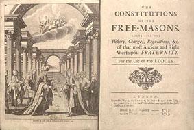 Primera edición de las Constituciones de 1723