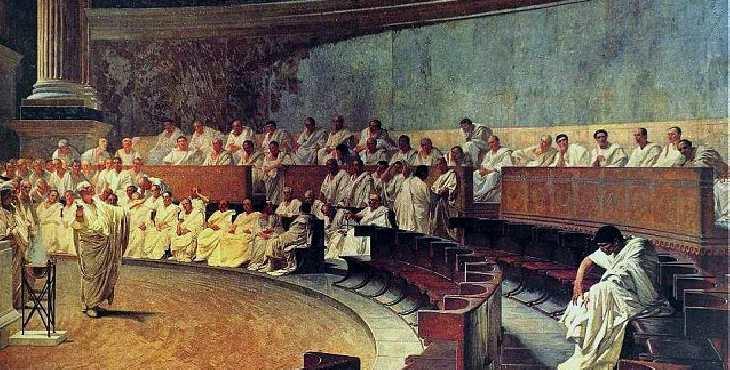 Efemérides: Asesinato de Cicerón