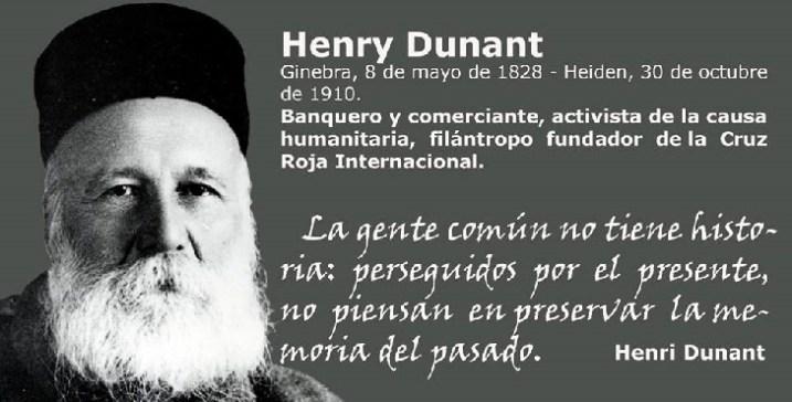 henry dunant fundador de la cruz roja