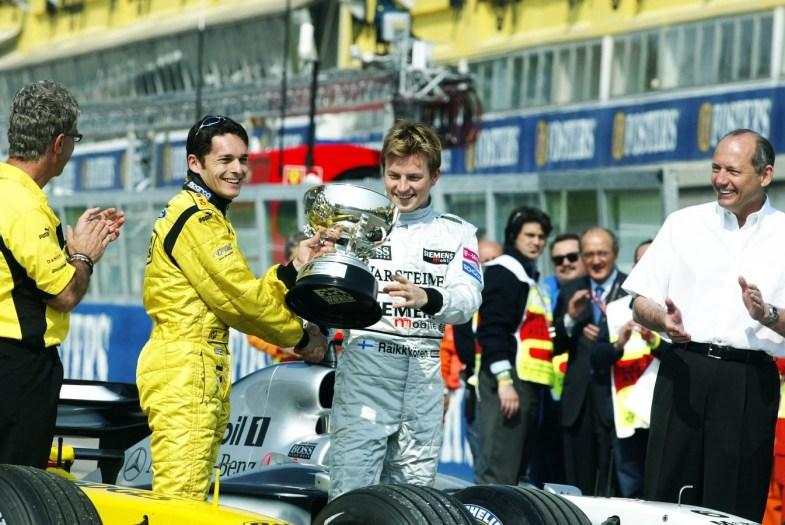 Resultado de imagen de podio brasil 2003