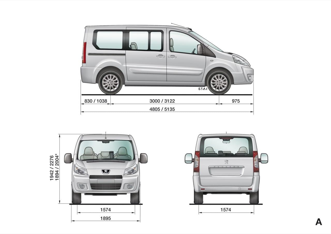 Peugeot Expert y Expert Tepee 2.0 HDi de 120 CV. Foto 4 de 13.