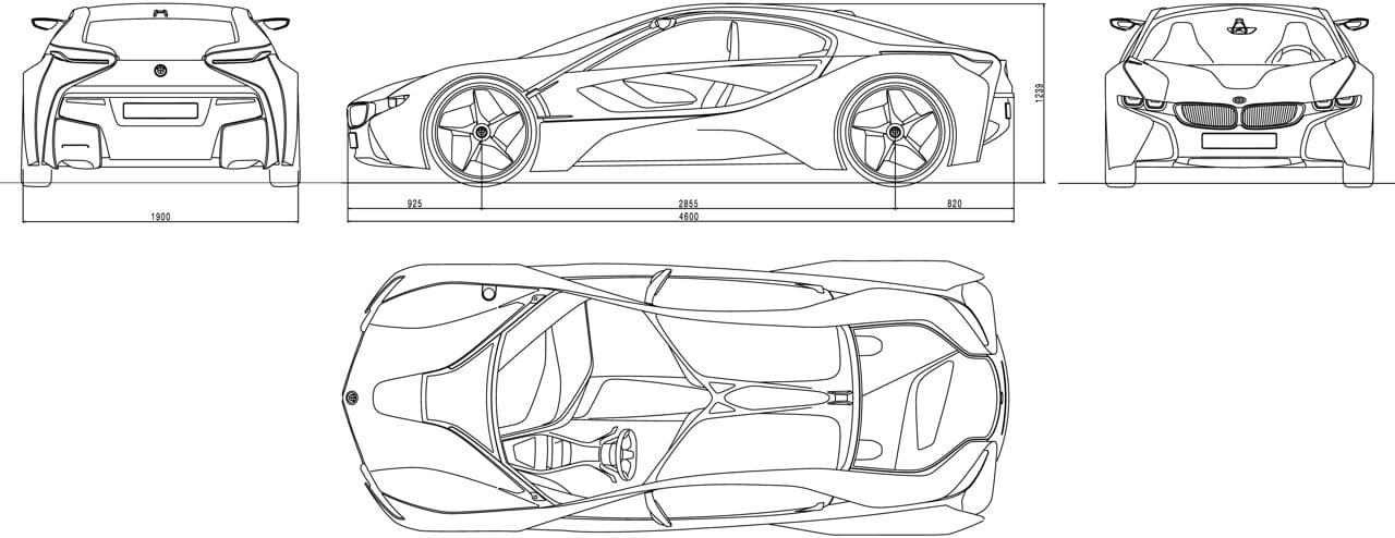 BMW i8, posible nombre del Vision EfficientDynamics de