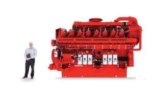Cummins QSK95, un motor diésel de 4000 CV y 16 cilindros