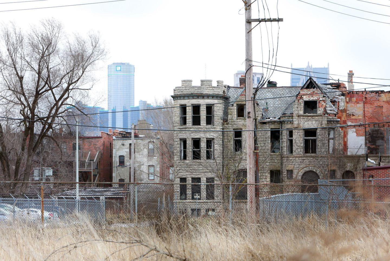 Resultado de imagen de detroit en ruinas