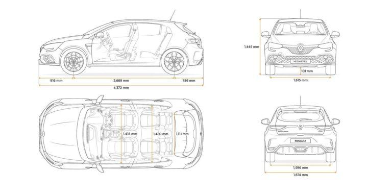 Si quieres un Renault Mégane RS con freno de mano