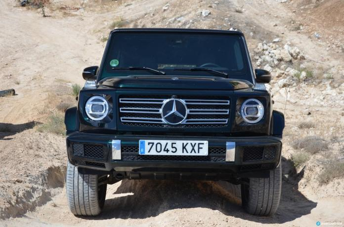 Mercedes Clase G Frontal  01