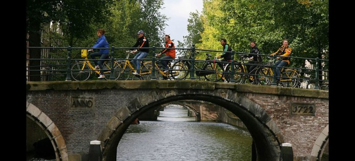 Examen Carne Bicicleta Puente Amsterdam