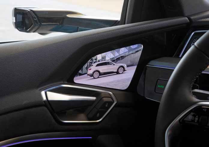 Audi e-tron retrovisores espejos