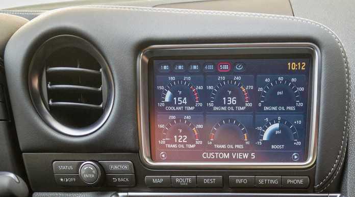 Arrancar Coche Frio Temperatura Aceite Nissan Gt R