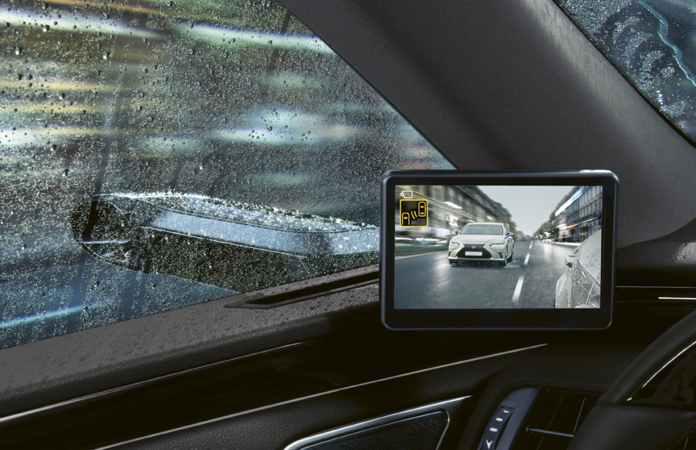 Lexus Es Digital Mirror 04