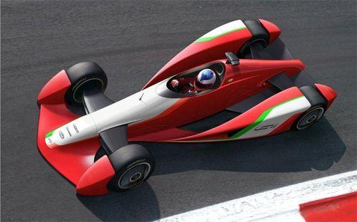 Diseño de un posible monoplaza de F1 del futuro