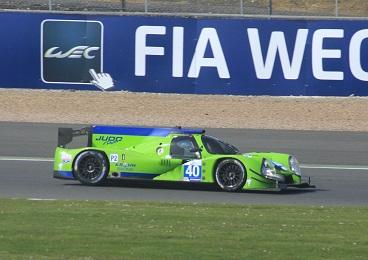 O Ligier Judd da Krohn Racing em ação nesta sexta-feira nos treinos livres em Silverstone (Foto TL Photographic Works (@tlphotographic / www.facebook.com/tlphotographicworks)