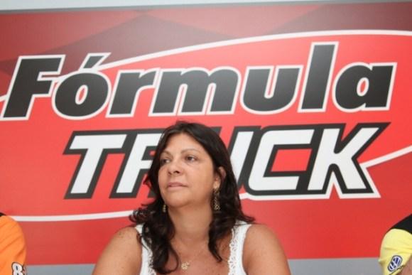 Neusa Navarro Félix, presidente da Fórmula Truck (Fotos Orlei Silva/Truck)