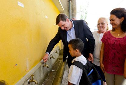 São Bernardo instala 1,5 mil novas torneiras econômicas em prédios públicos