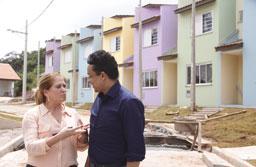 Secretário do Ministério das Cidades visita áreas de risco em Diadema