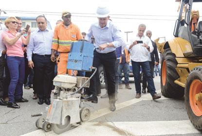 Prefeitura dá início às obras do corredor Castelo Branco