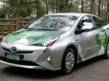Toyota Prius Híbrido Flex está sendo desenvolvido por engenheiros brasileiros. Foto: Divulgação/Toyota