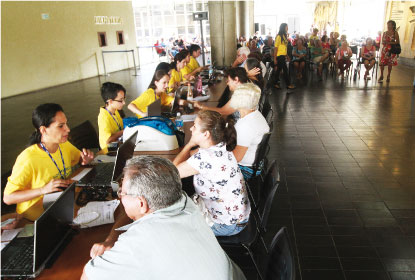Em Santo André, Cartão Prioridade beneficia 315 idosos no primeiro dia de cadastramento