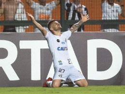 Com Gabriel expulso, Santos derrota o Nacional