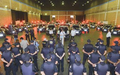 Prefeito Orlando Morando entrega 50 novas viaturas para a Guarda Civil Municipal