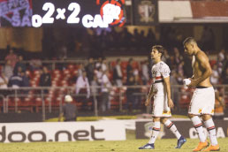 Atlético-PR arranca empate e elimina o São Paulo