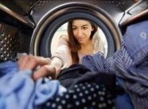 Economizando água na hora de lavar roupas