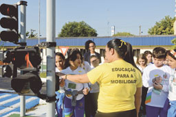 Por um trânsito mais seguro, São Bernardo amplia ações educativas pelo Maio Amarelo