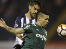 Moisés joga bem e pode tomar lugar de Lucas Lima na armação do Palmeiras