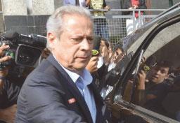 Tribunal nega recurso, e substituta de Moro ordena prisão de Dirceu