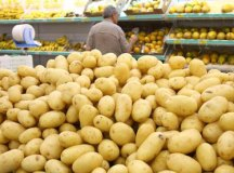A batata ficou 17,51% mais cara no mês passado. Foto: Arquivo