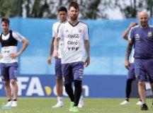 Argentina de Messi está isolada na periferia de Moscou. Foto: Divulgação/AFA