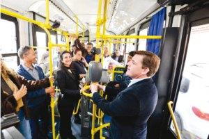 Prefeito Orlando Morando inaugura primeiro corredor exclusivo de ônibus de São Bernardo