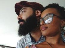 """Silmara Mateus e Alex Caíres: """"amor é construção"""". Foto: Arquivo pessoal"""