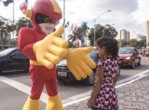 Campanha Segurança do Pedestre atinge 200 mil em Santo André