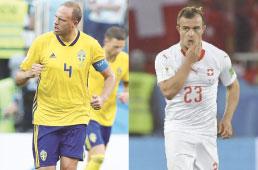 Suécia e Suíça fazem jogo inédito em Mundiais