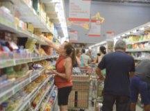 Venda nos supermercados foi menos atingida pela greve. Foto: Arquivo