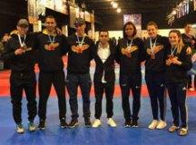 Equipe obteve cinco medalhas de ouro e uma de prata. Foto: Divulgação