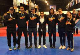 Atletas de S.Caetano conquistam o ouro no Argentina Open de Taekwondo