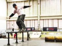 Pela primeira vez, skate será esporte olímpico nos Jogos de Tóquio, em 2020. Foto: FotoArena/Divulgação