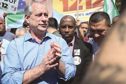 Em Mauá, Ciro diz que Bolsonaro representa 'risco grave' para o país
