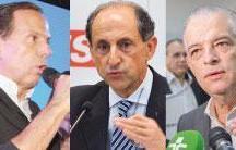 Em São Paulo, Doria e Skaf seguem empatados; Márcio França vai a 14%