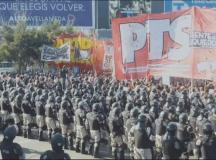 Buenos Aires viveu nesta terça-feira um dia de paralisia e tensão. Foto: Reprodução Jornal Hoje/TV Globo