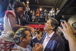 Em estreia como candidato, Haddad diz que rivais têm 'medo de um vice'