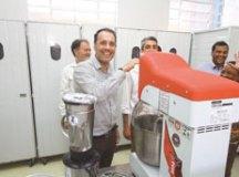 Banco de Alimentos de Mauá é reinaugurado com padaria artesanal