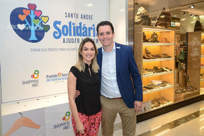 Loja Solidária no Shopping ABC passa a funcionar em novo espaço
