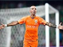 Diego Tardelli encerrou vínculo com o Shandong Luneng e está livre no mercado. Foto: Shandong Luneng Oficial